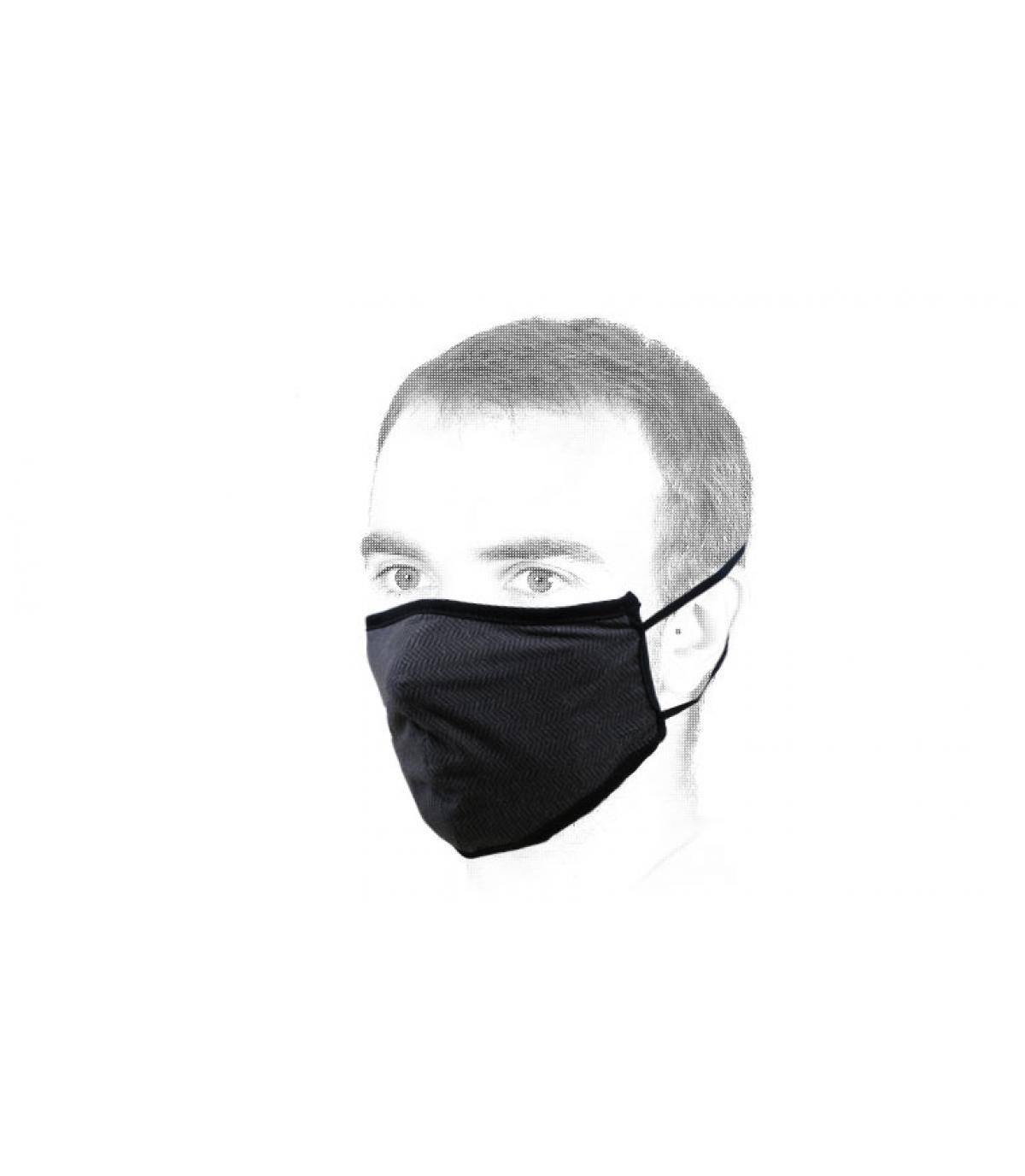black Brixton mask