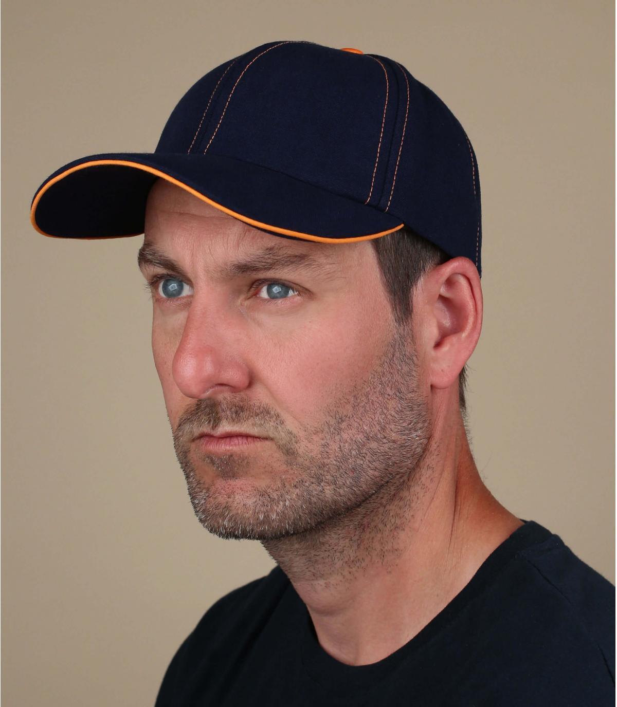 blue orange Le Chapoté cap