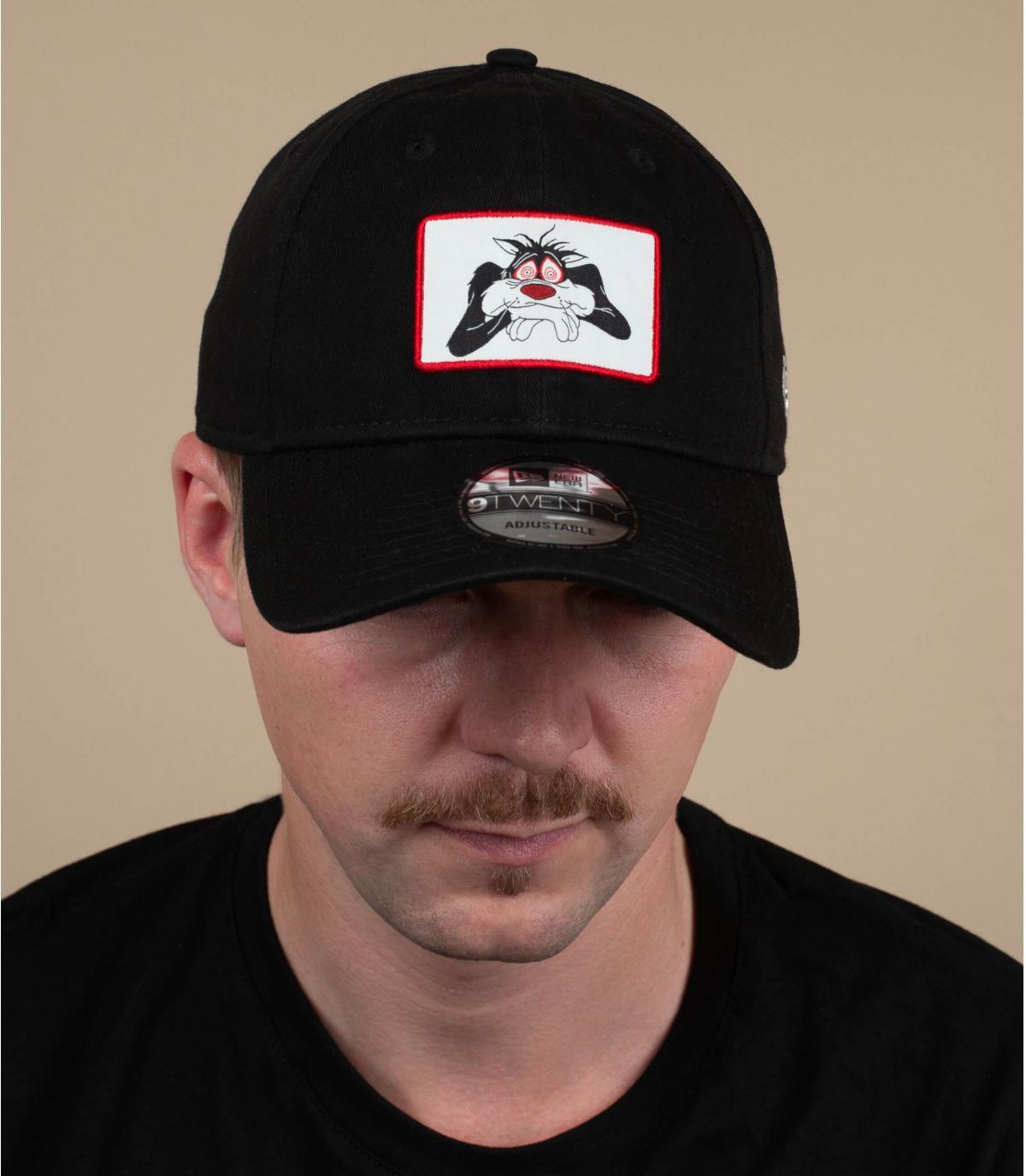 black Sylvester cap