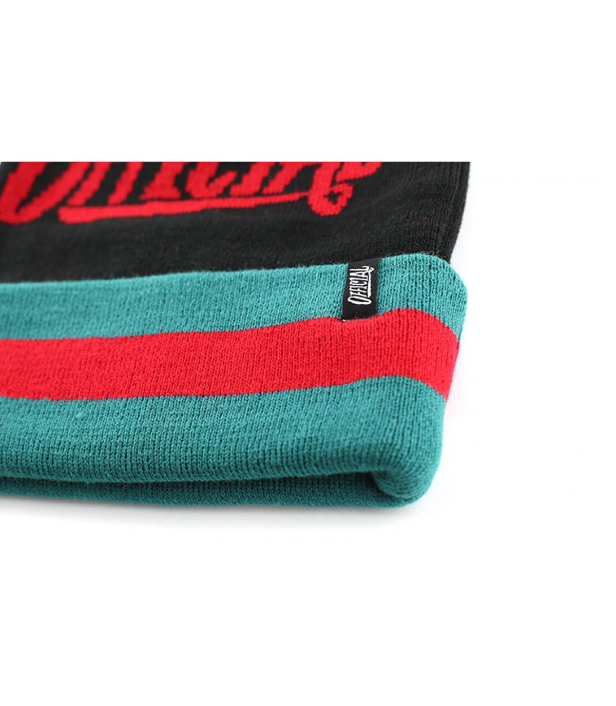 The Official black beanie