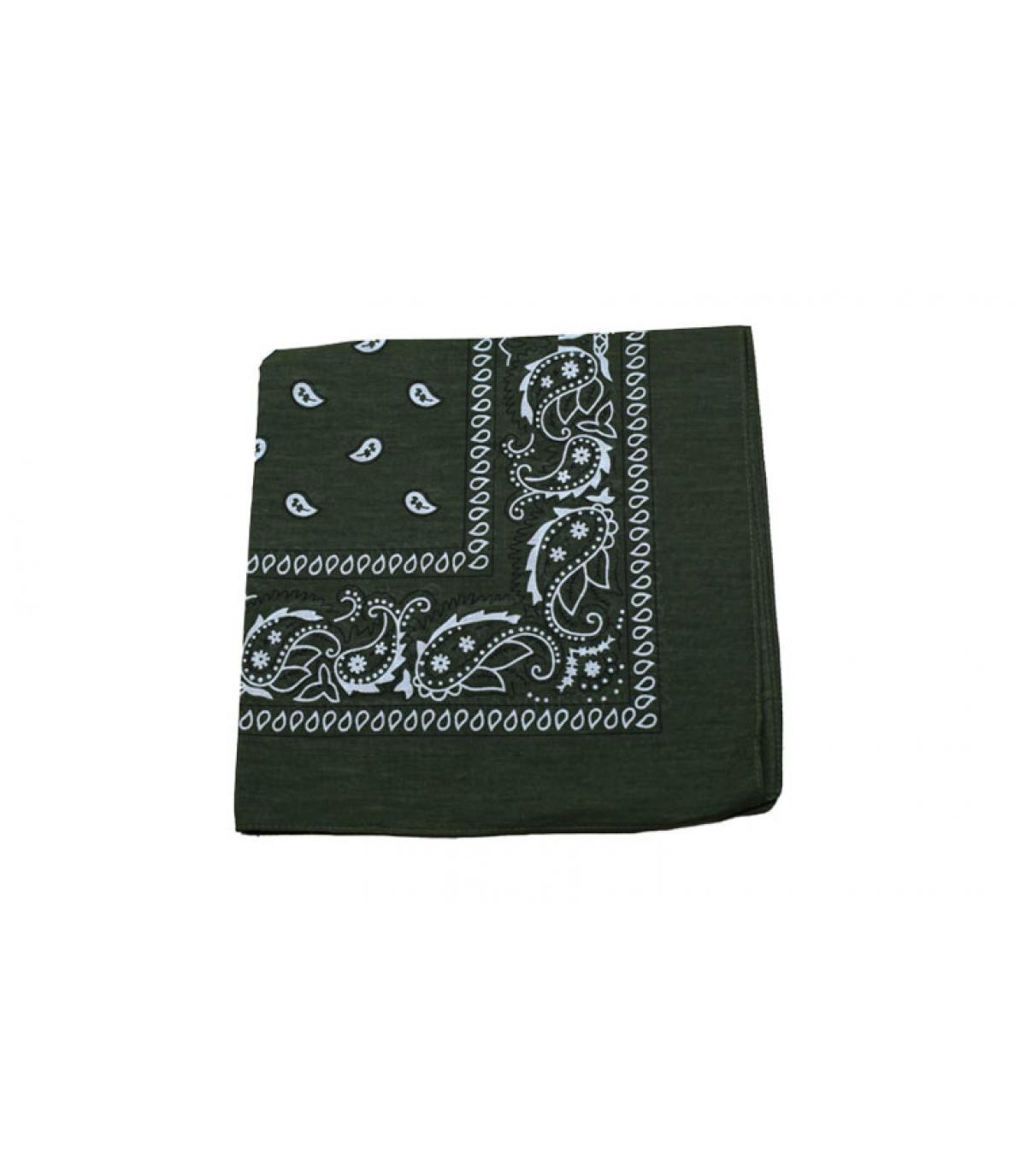 Khaki-green bandana