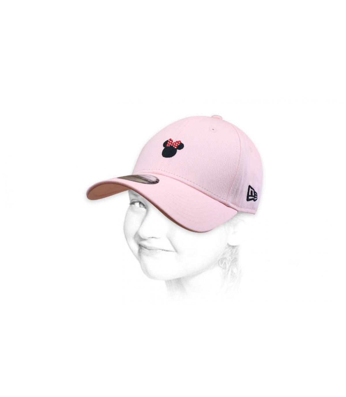 pink Minnie cap
