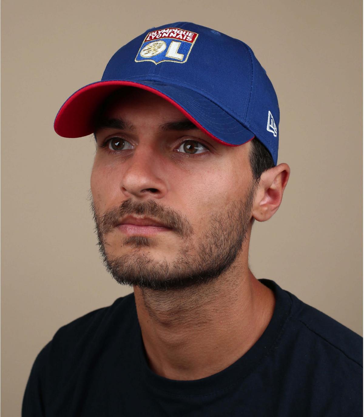 blue OL cap