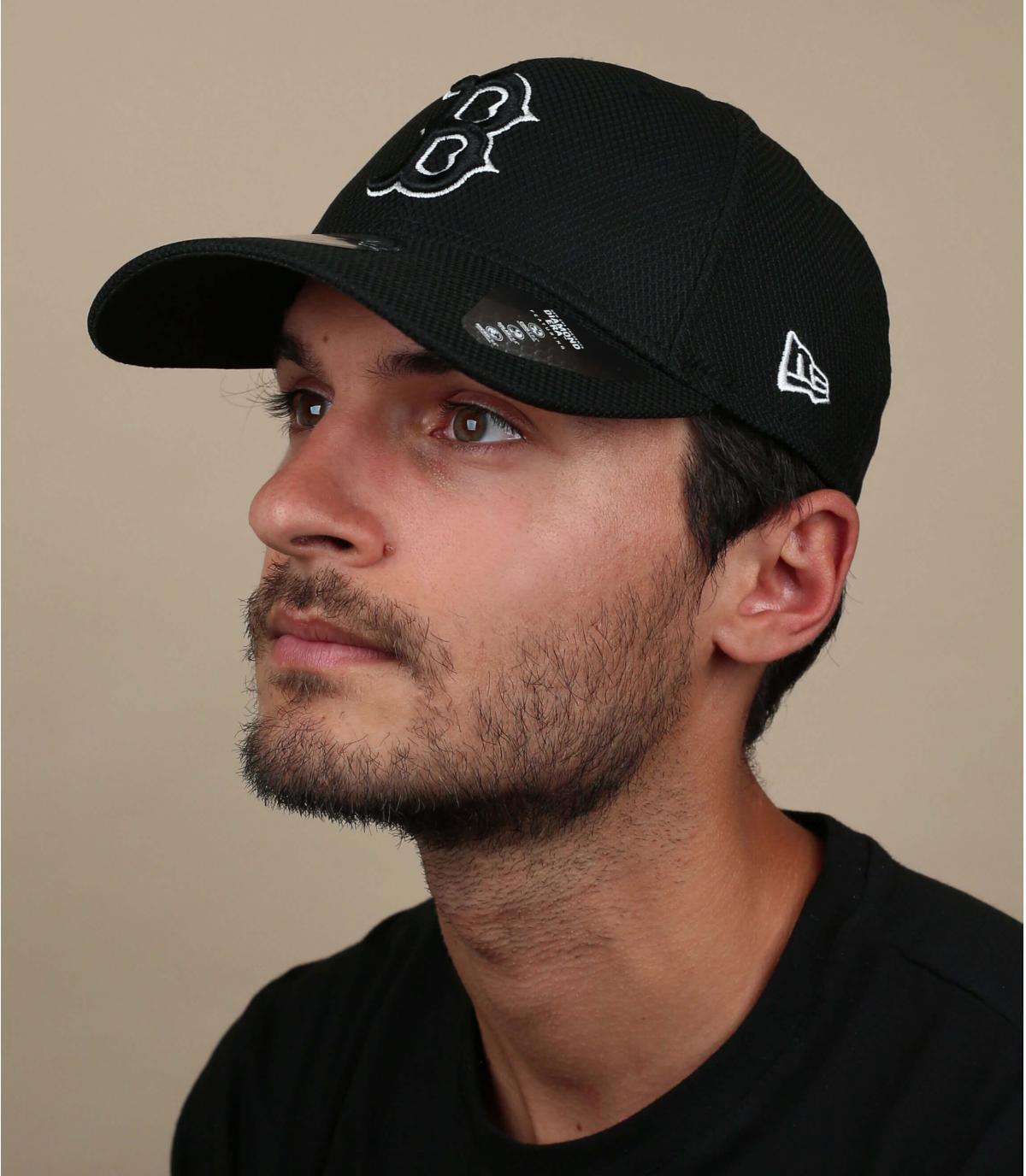 black B cap