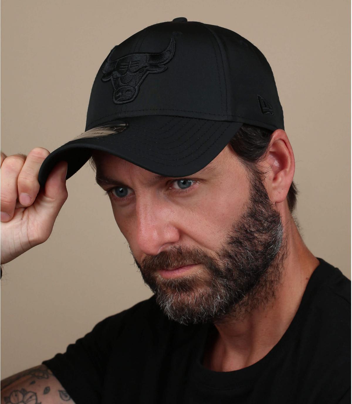 Black Bulls cap nylon
