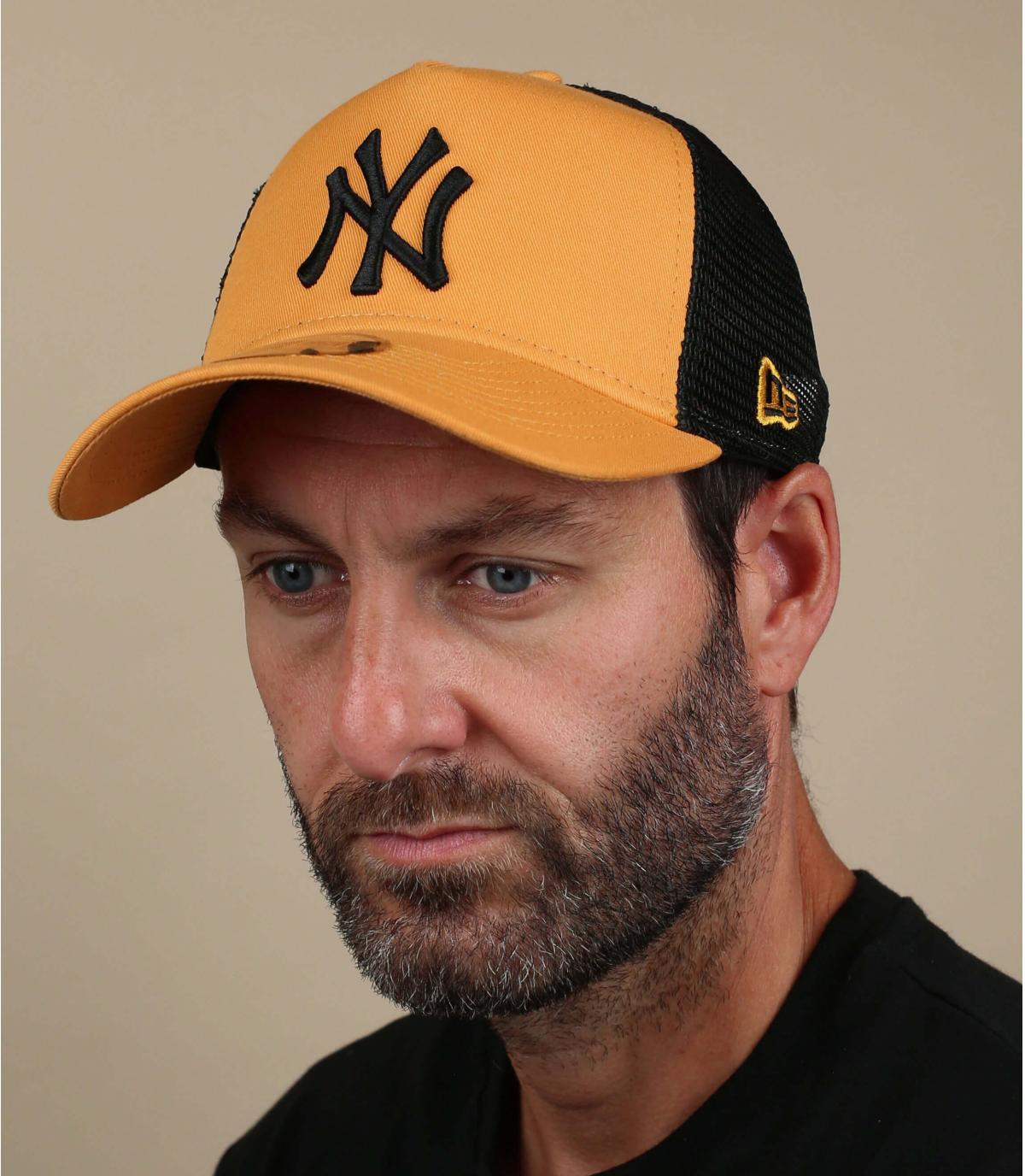 yellow NY trucker