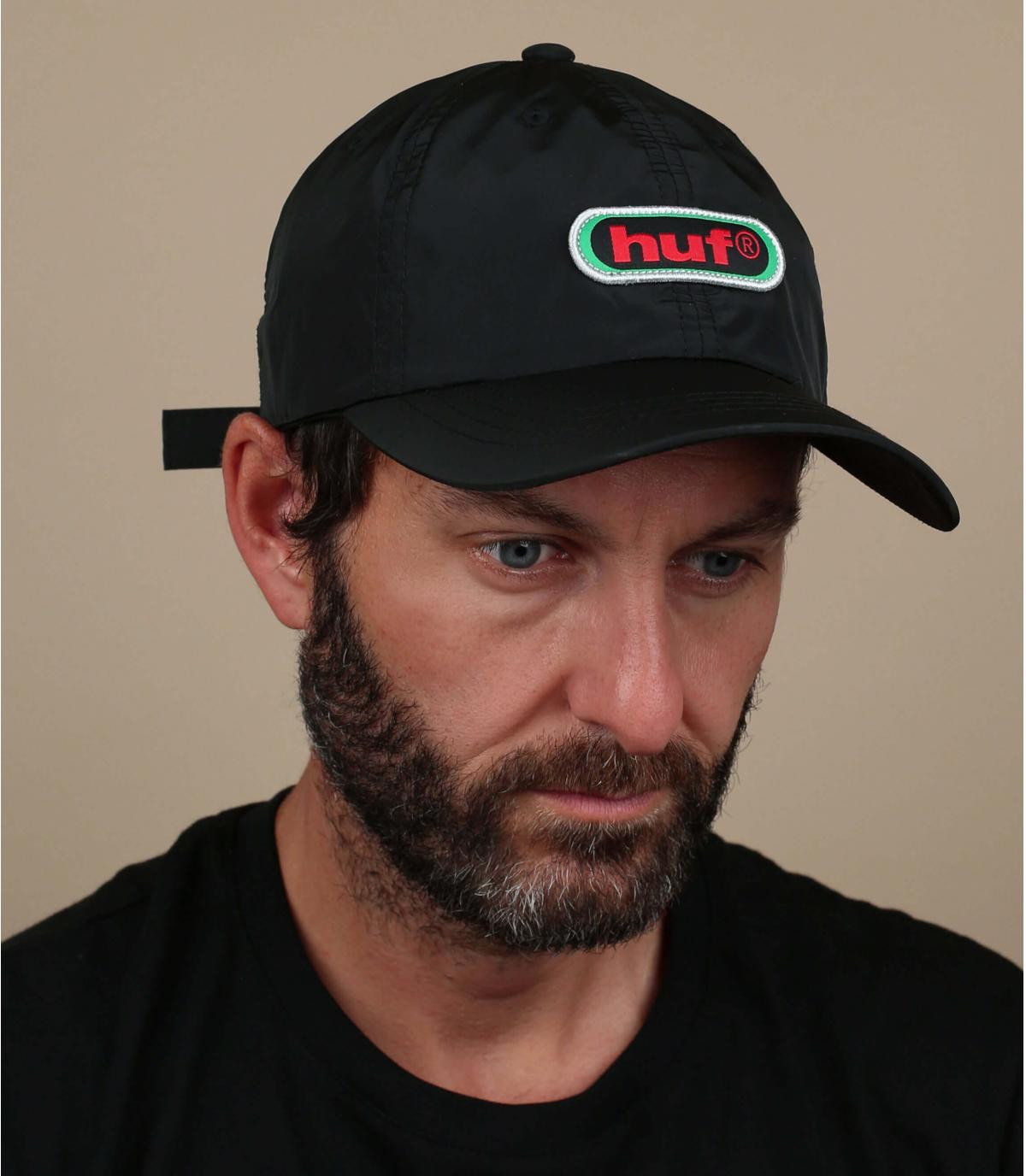 Huf black cap '90s