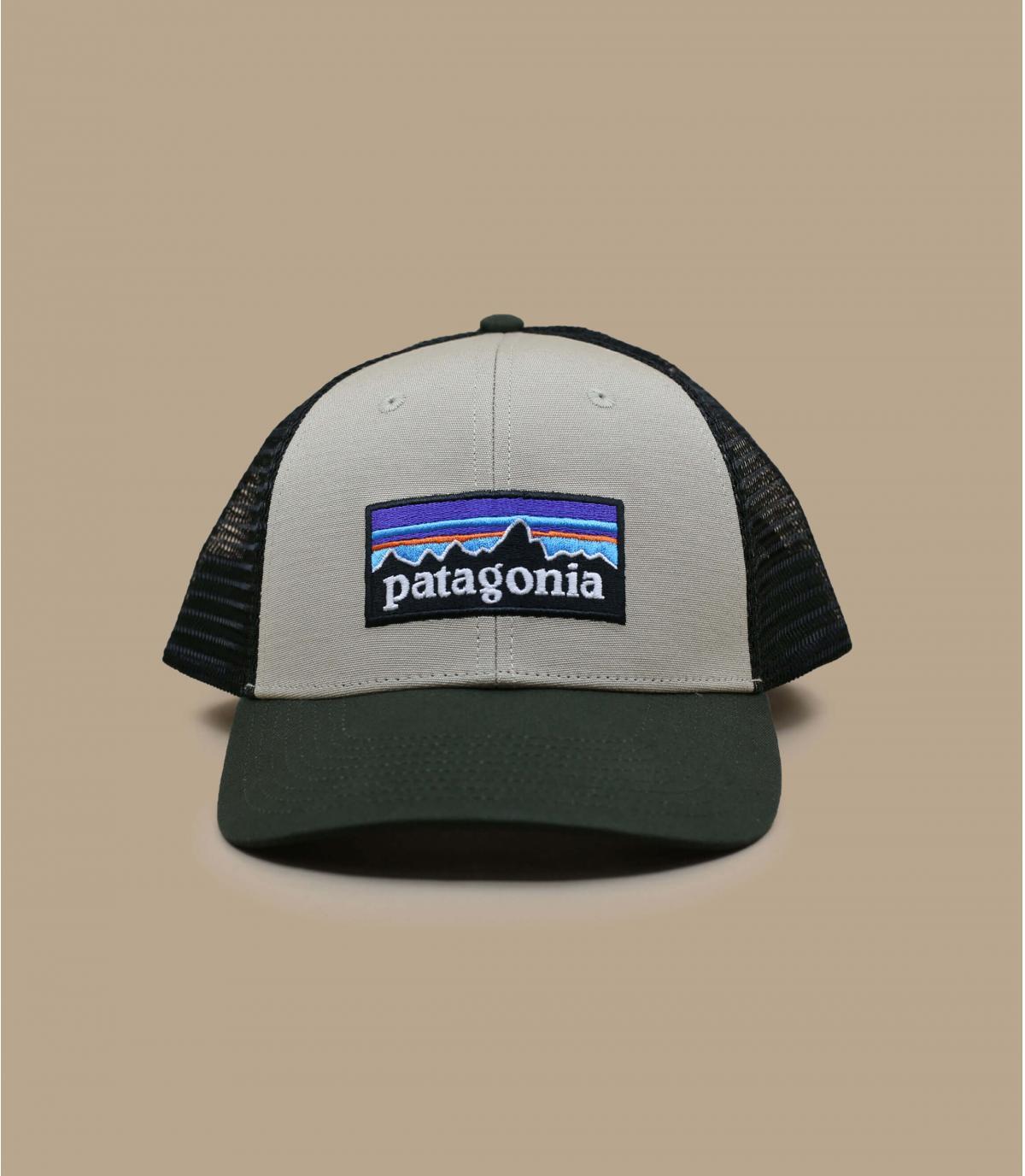 beige Patagonia trucker