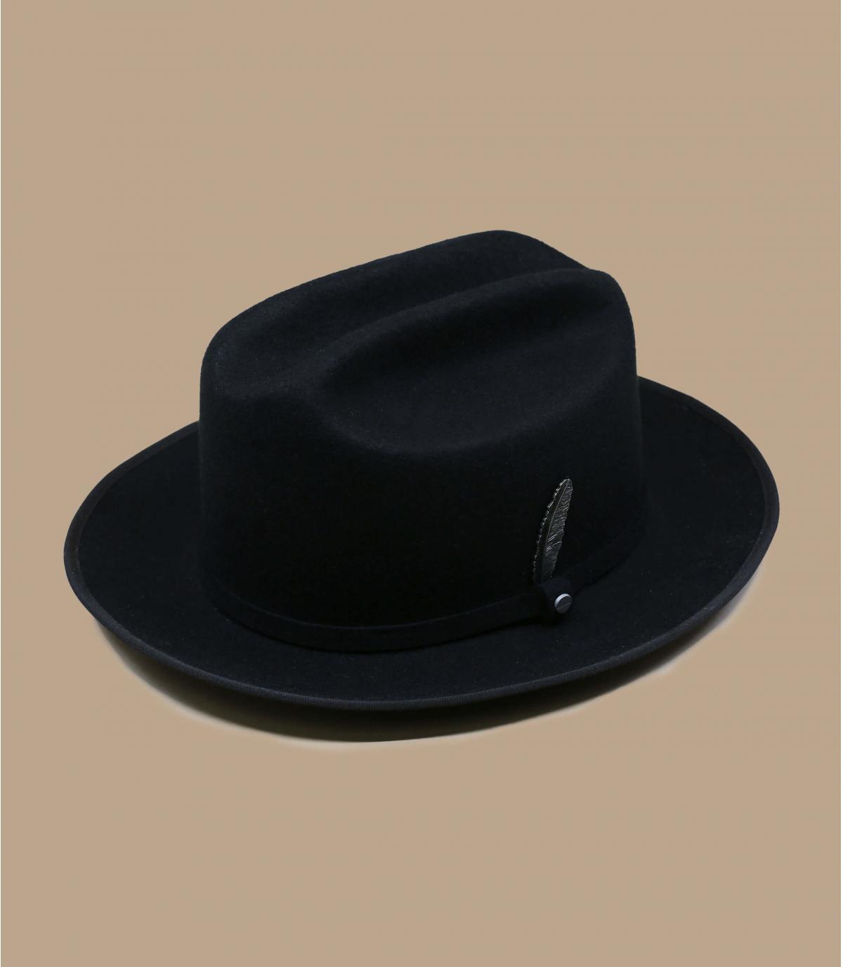black felt hat Stetson