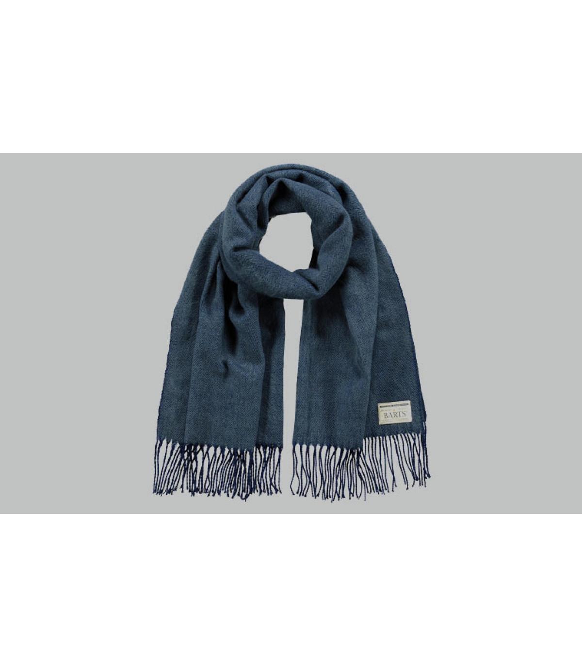 Men navy scarf