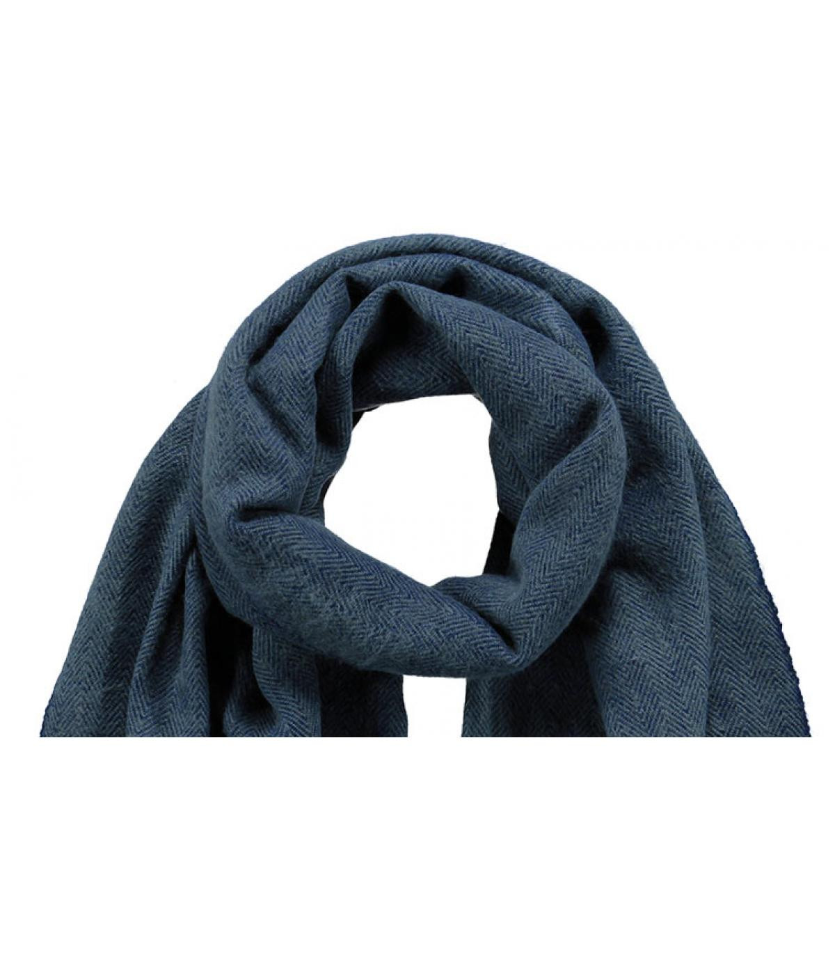 Détails Soho scarf navy - image 2