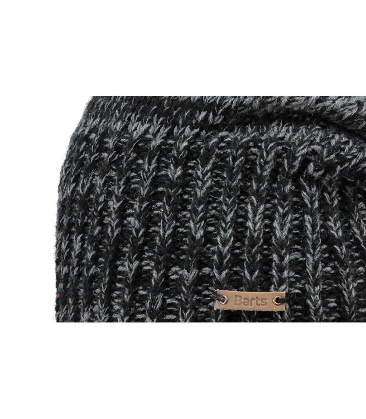 Black oversize beanie - Brighton beanie black by Barts. bf4c5b372c1