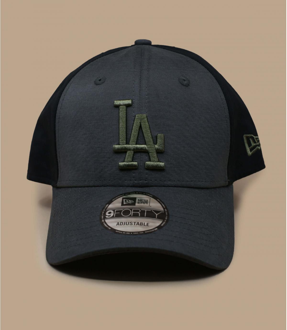 black green LA cap