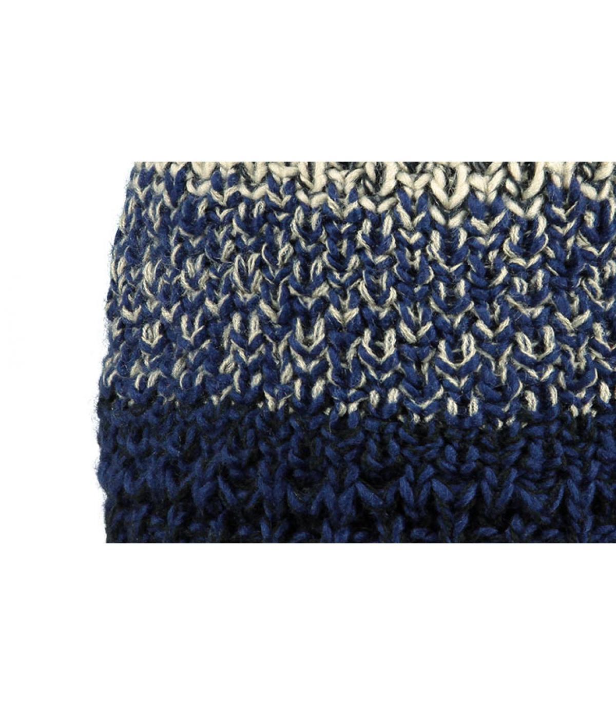 Blue pom beanie for men - Lester beanie dark blue by Barts. c2f8021e7cd