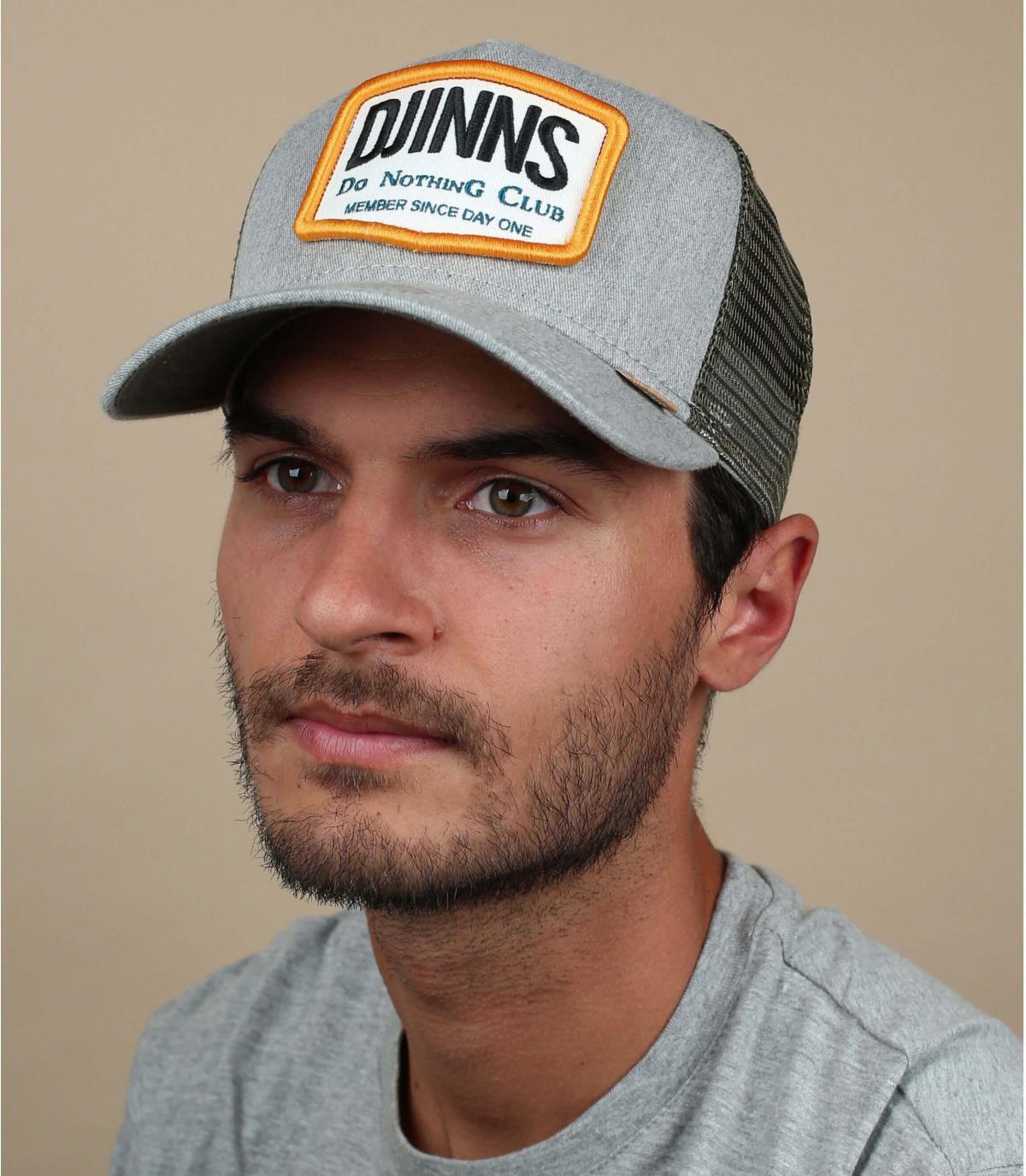 grey Djinns trucker
