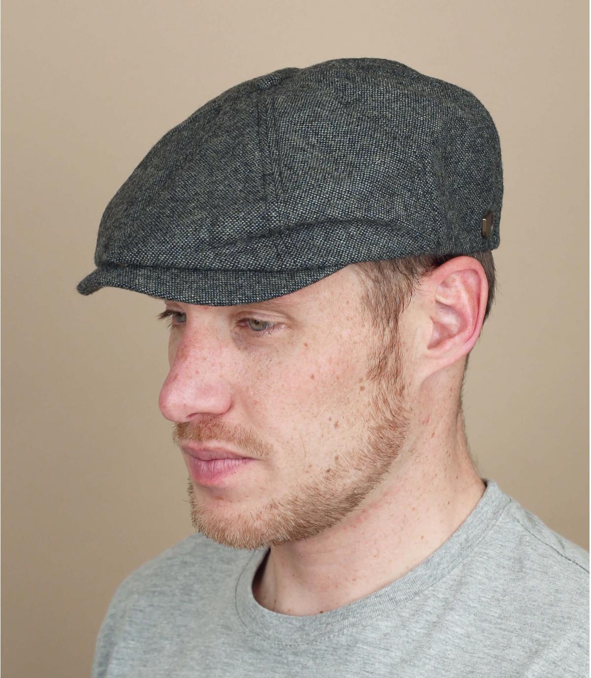 grey newsboy cap Brixton