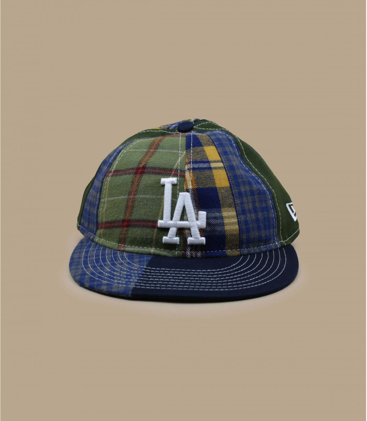 LA cap patchwork