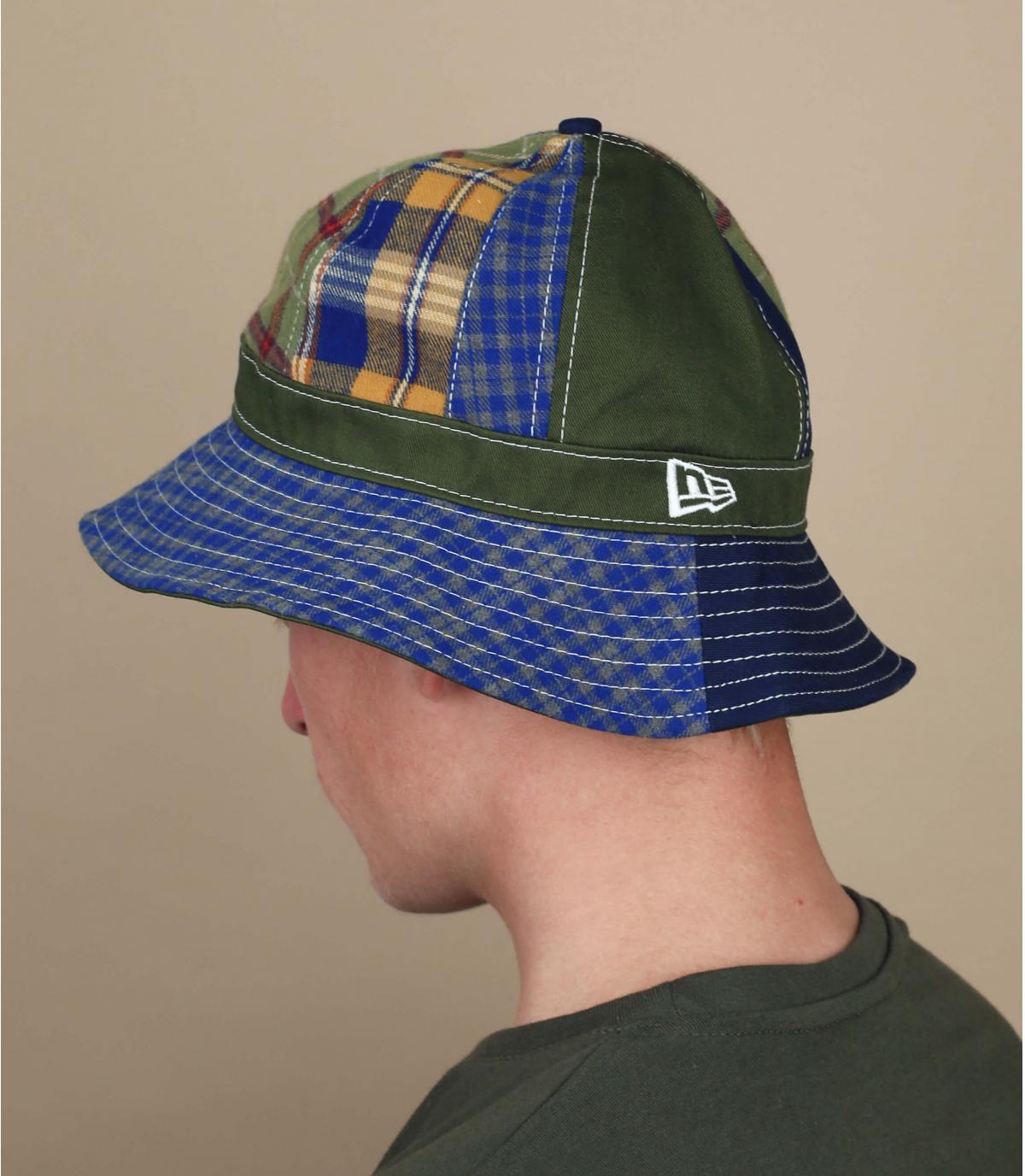 New Era bucket hat patchwork