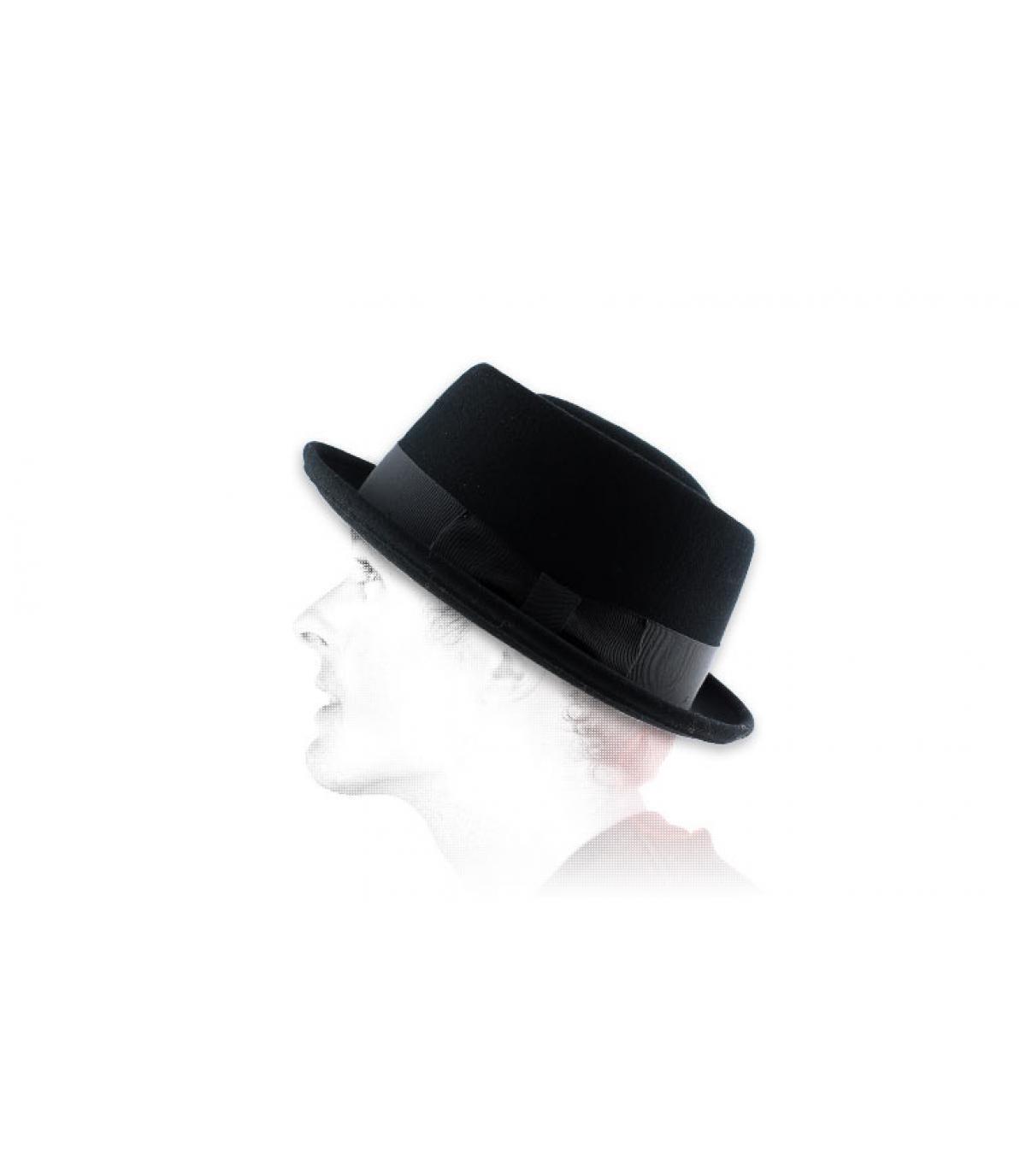 Bailey black men hat