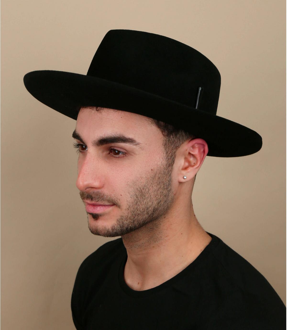 black felt hat bailey
