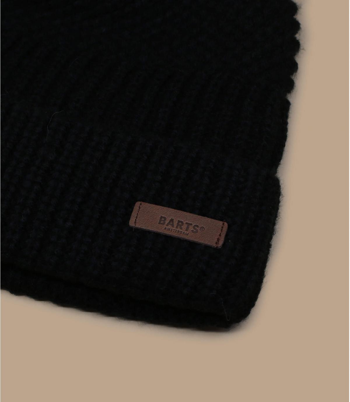 black cuffed beanie Barts