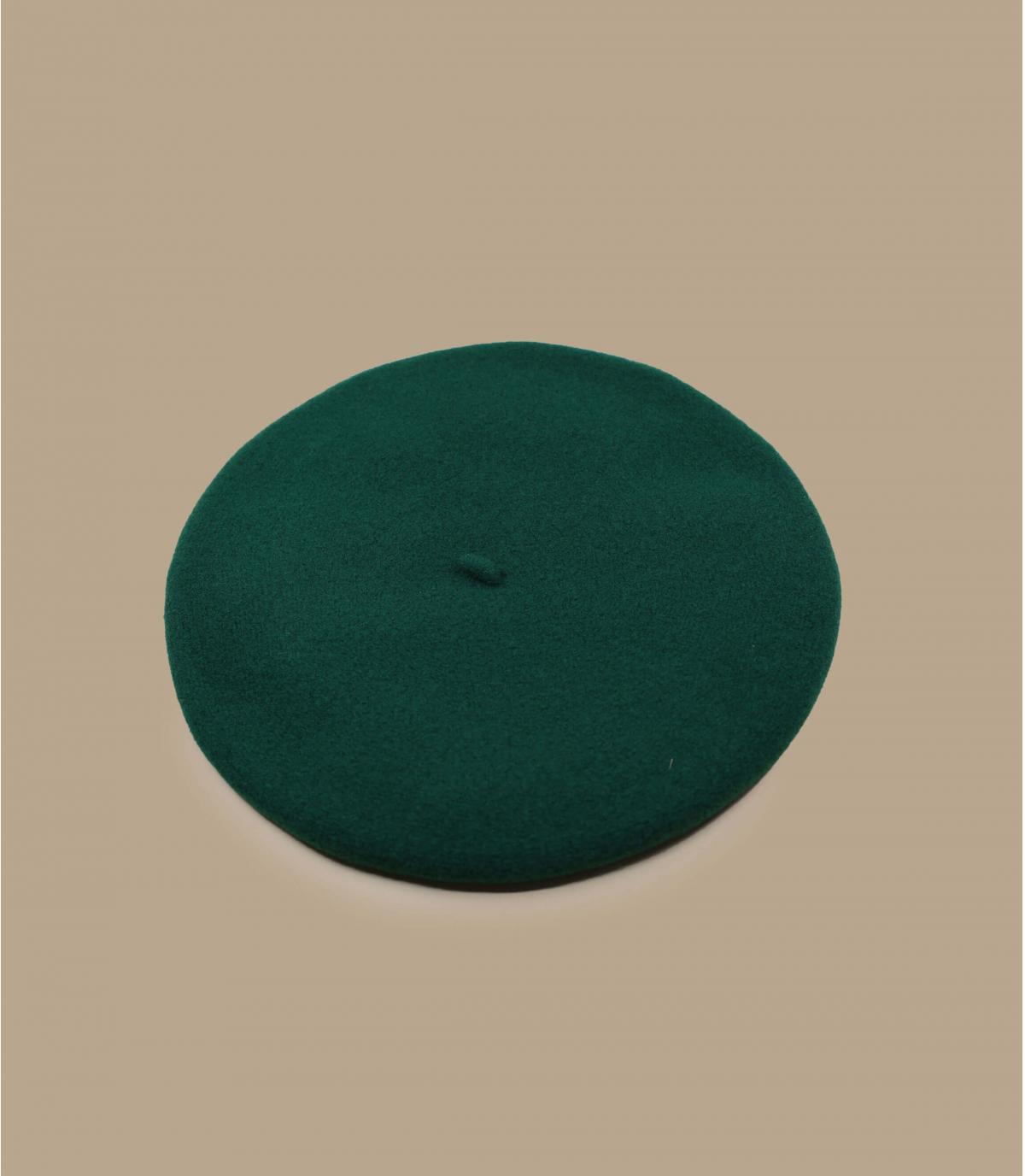 Green beret Laulhère merino
