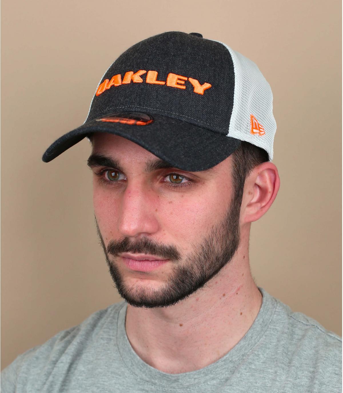 Oakley denim trucker
