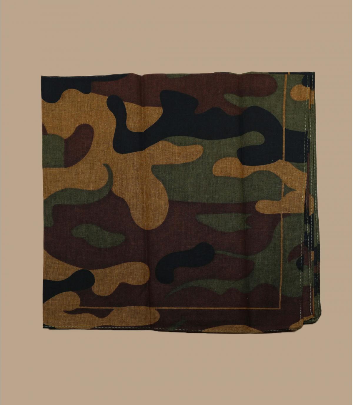 brown camo bandana