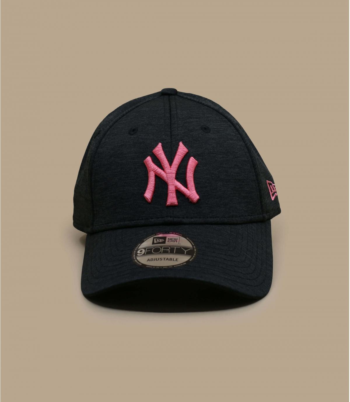 NY cap black pink
