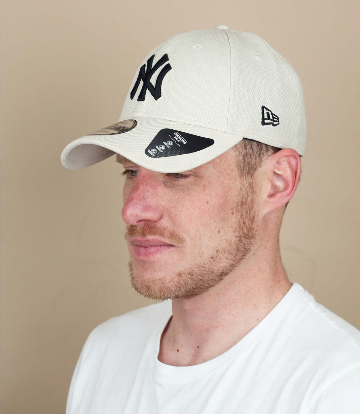 grey NY cap