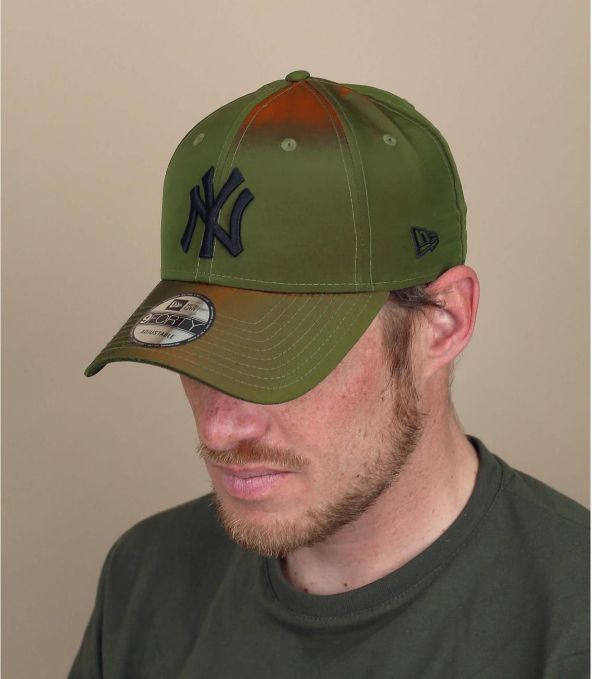 green NY cap