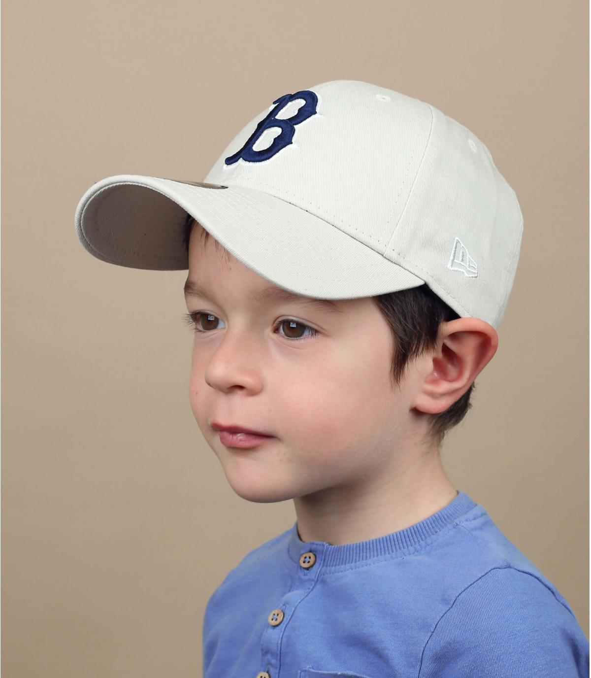 child cap beige B