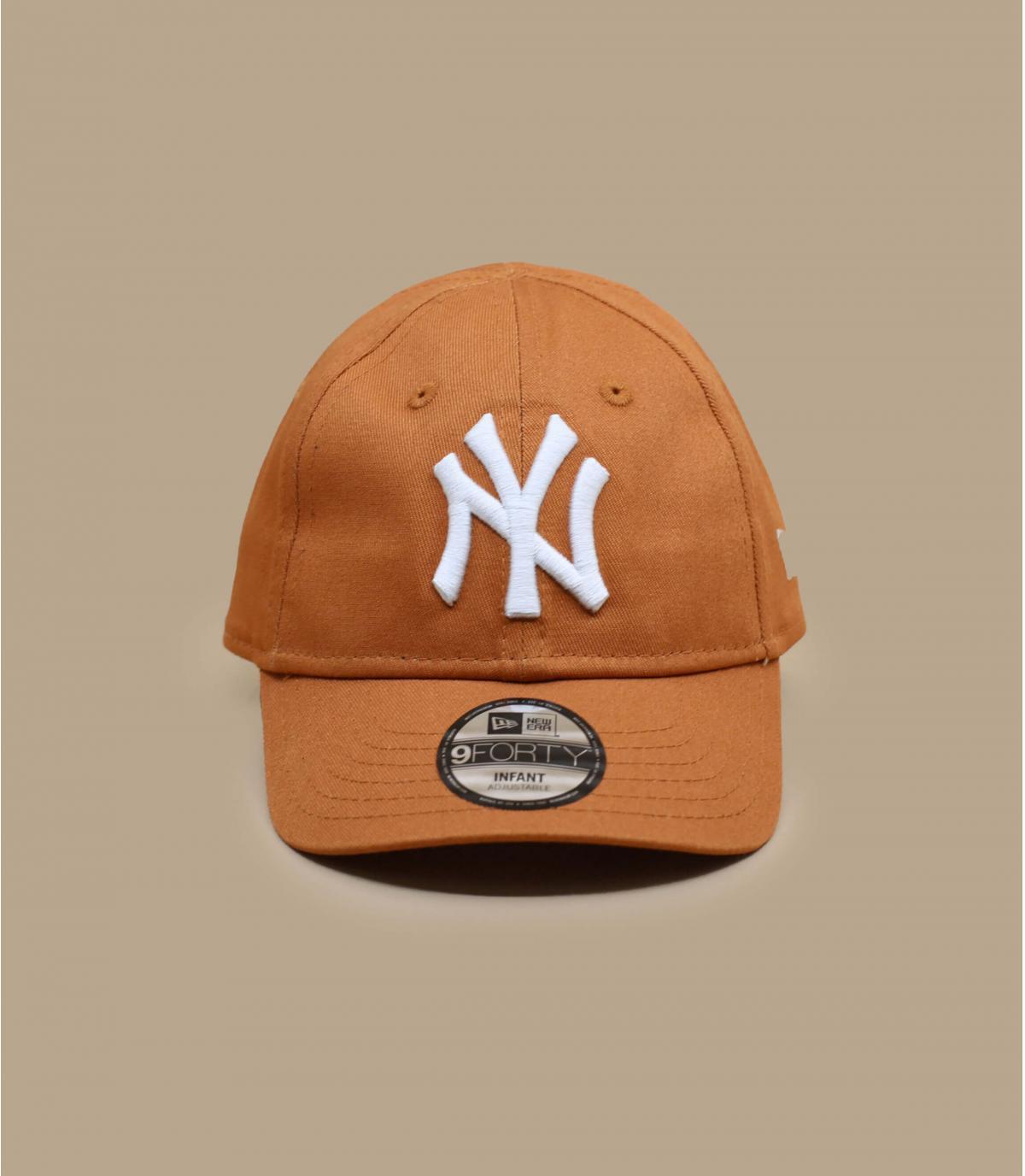 NY baby cap beige