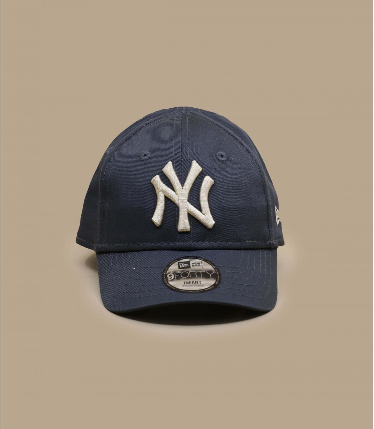 grey NY baby cap
