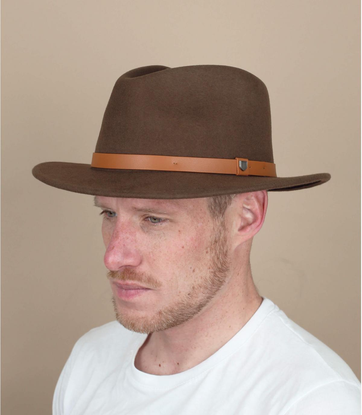 brown felt hat Bailey