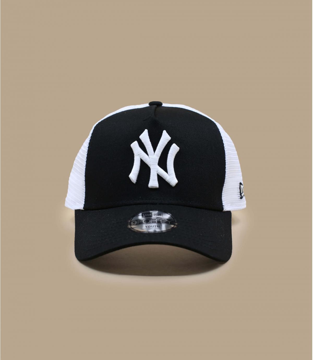 Détails Trucker Kids NY League Ess 940 black white - image 2