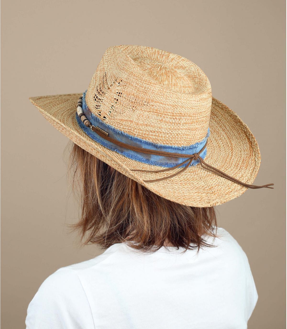 Cowboy hat beads