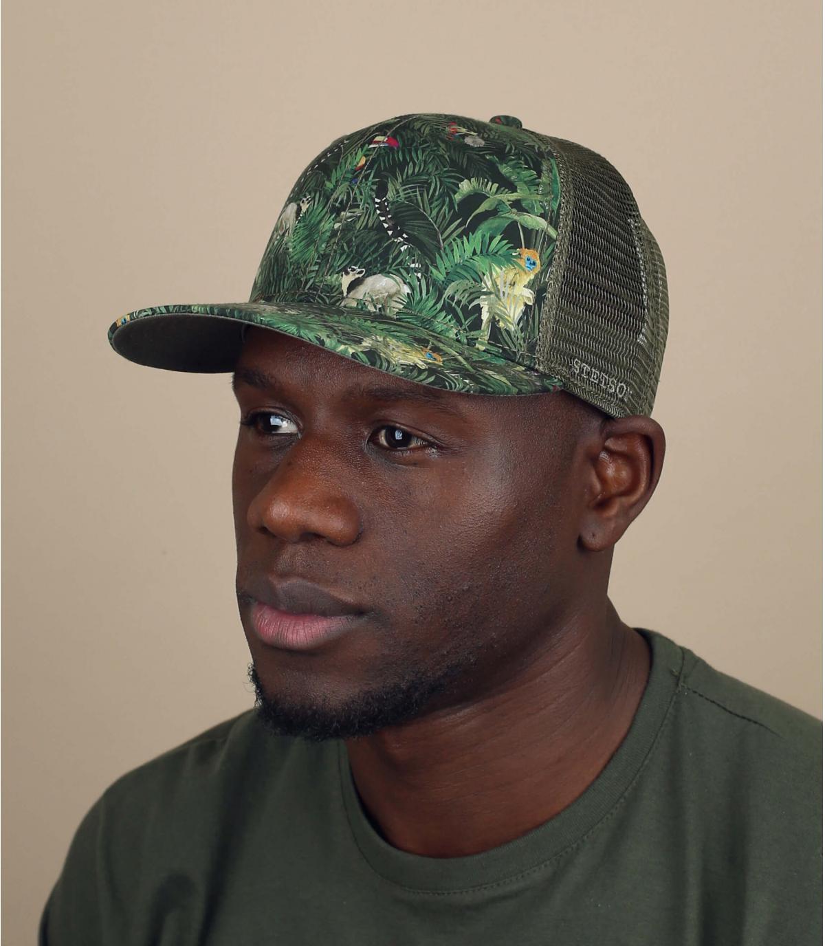 Stetson jungle trucker cap