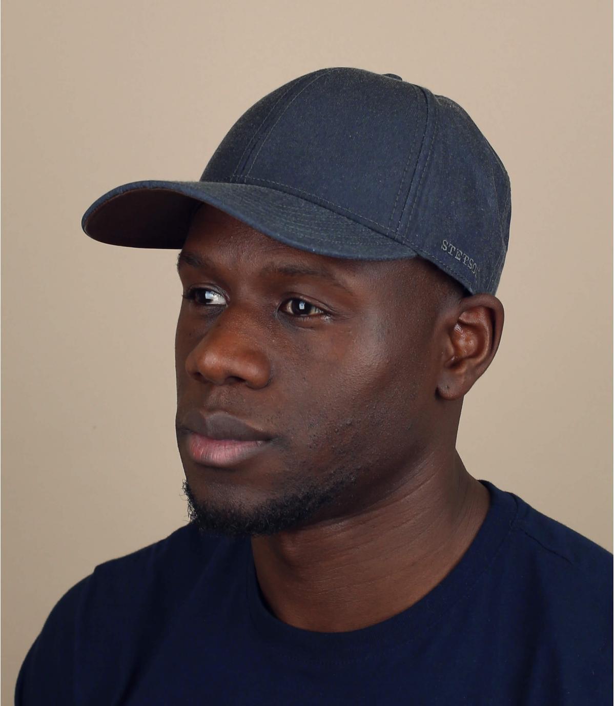 grey water resistant cap