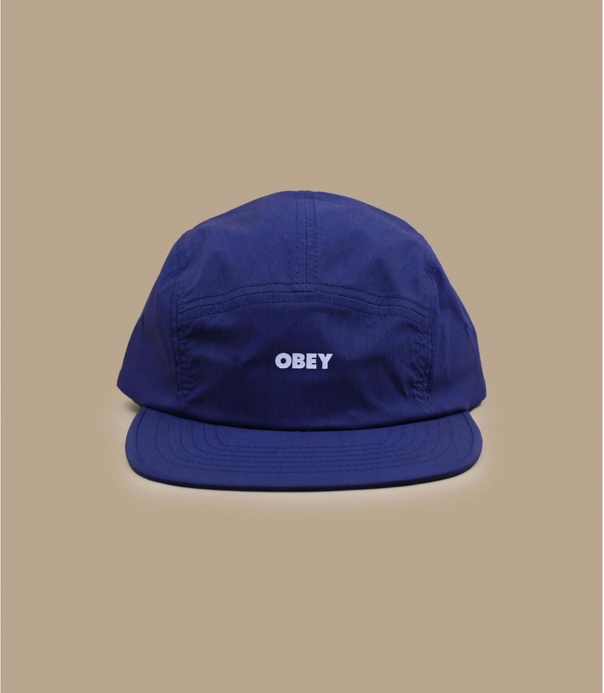 Obey navy blue 5 panel