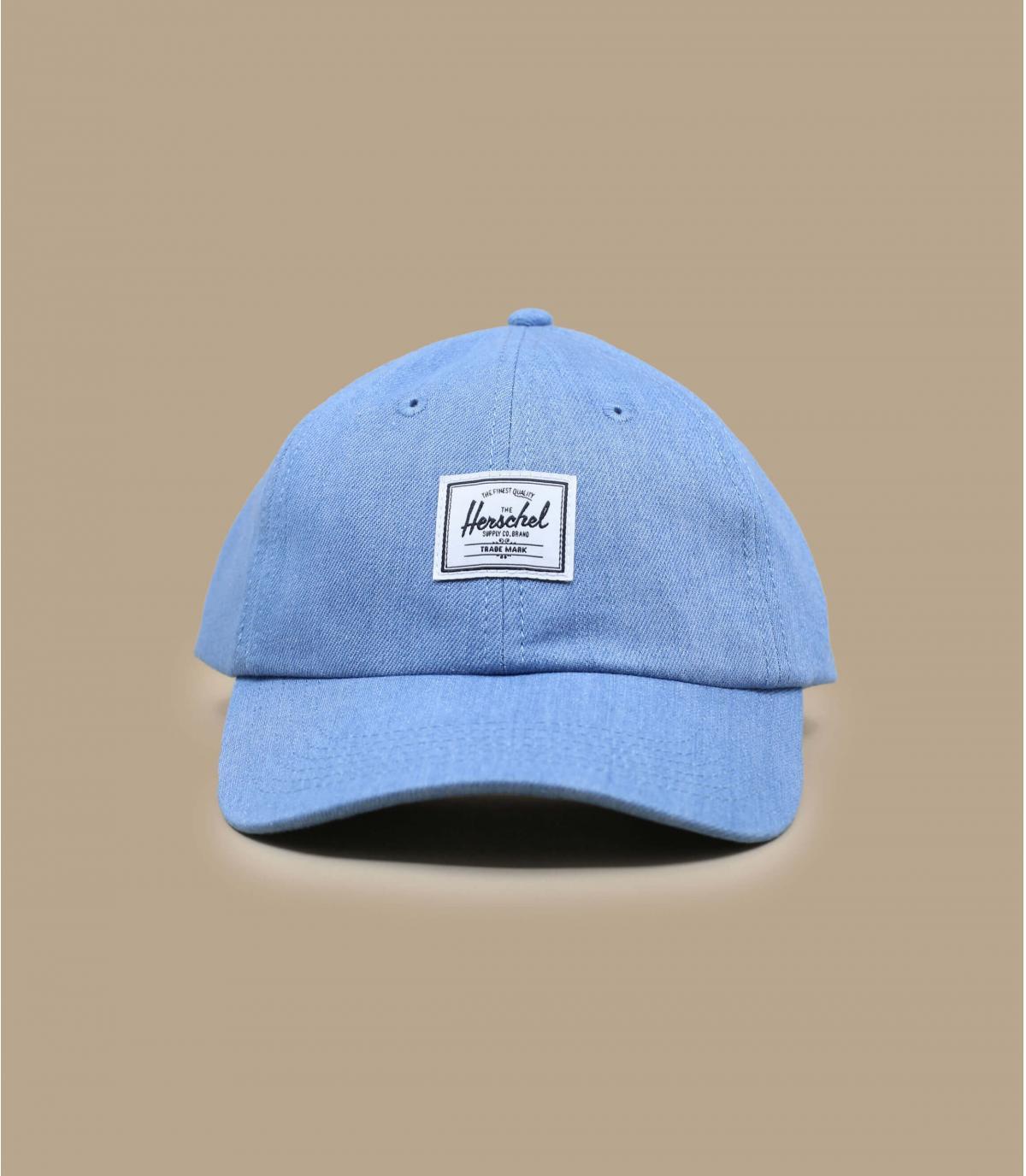 Herschel cap washed denim