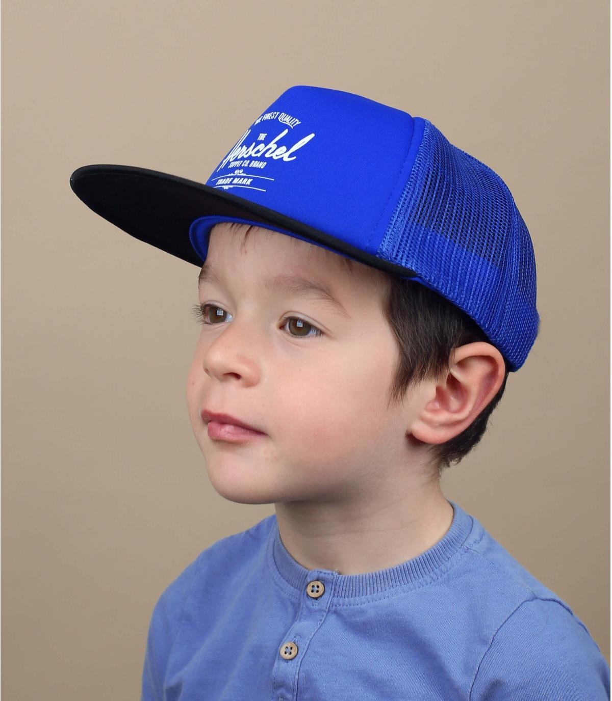 Herschel kids cap reflective