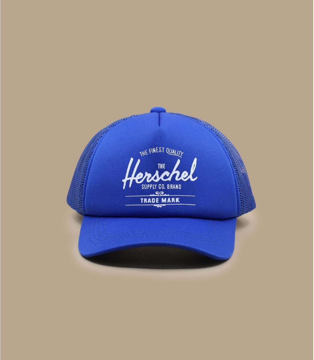 Blue Herschel baby cap