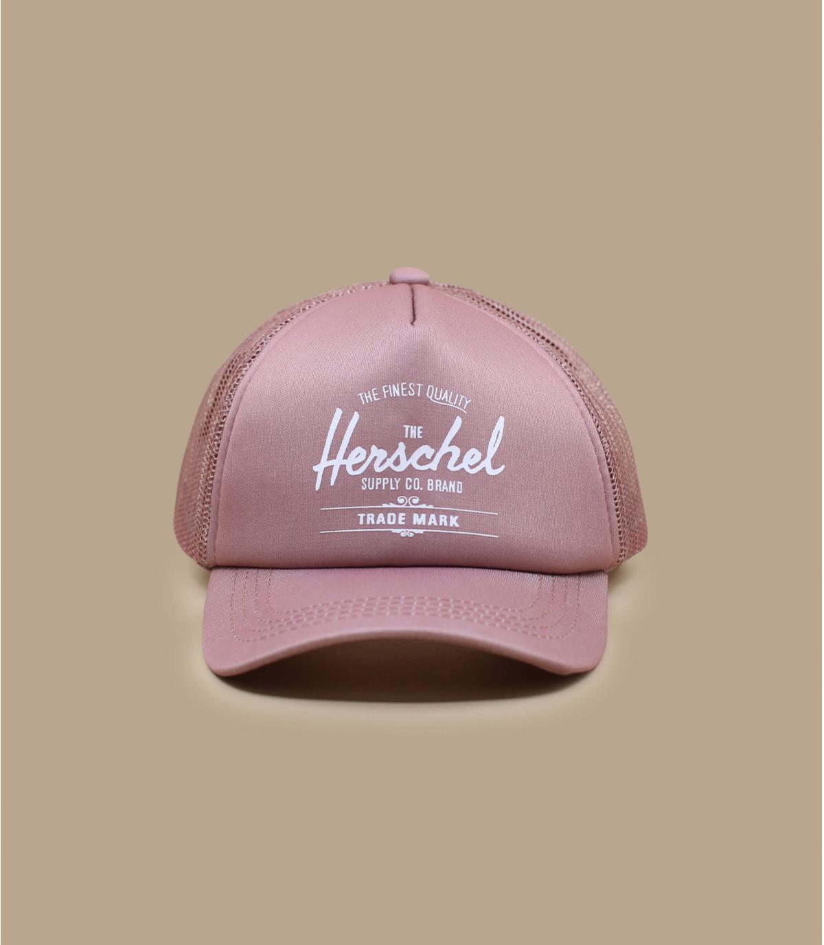pink Herschel baby cap