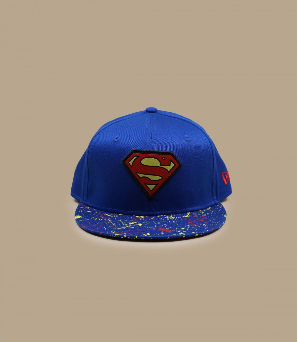 Superman kid snapback print