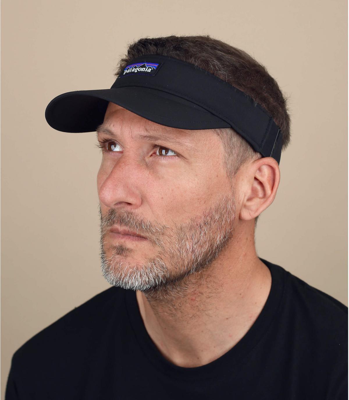 black visor Patagonia