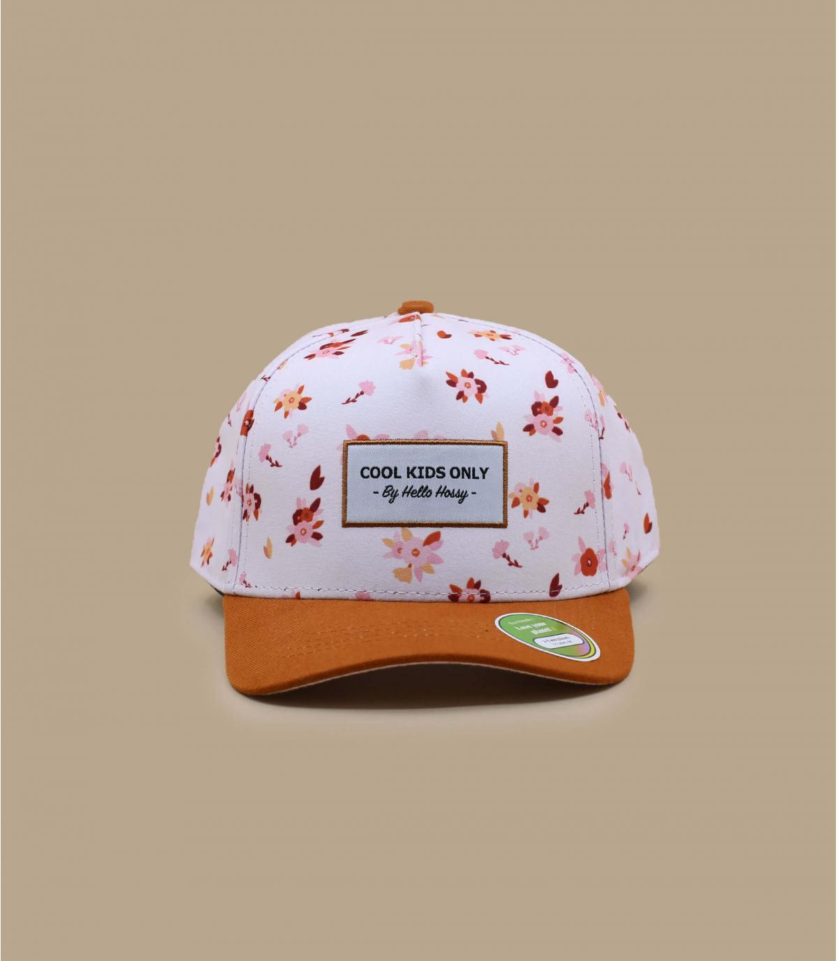 cap kids flowers