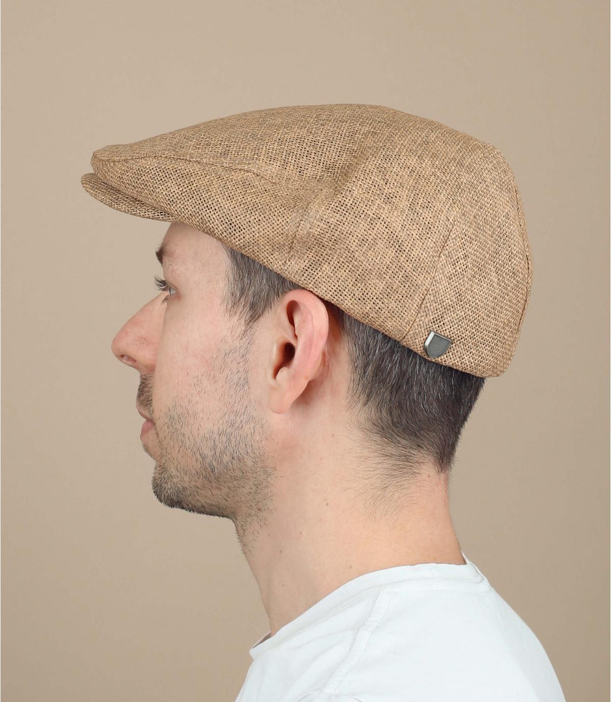 flat cap straw Brixton