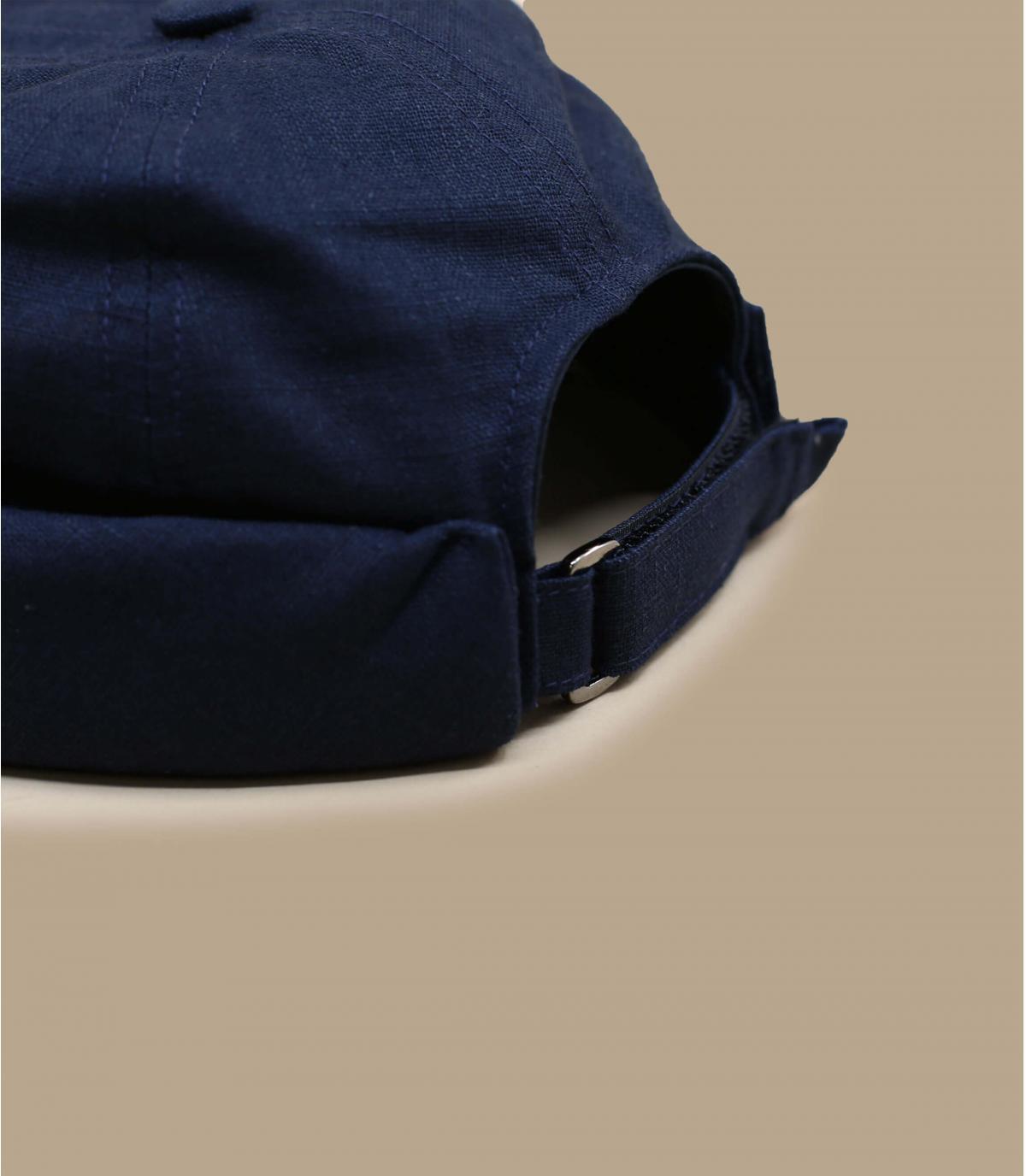 Détails Cooper Linen navy - image 3