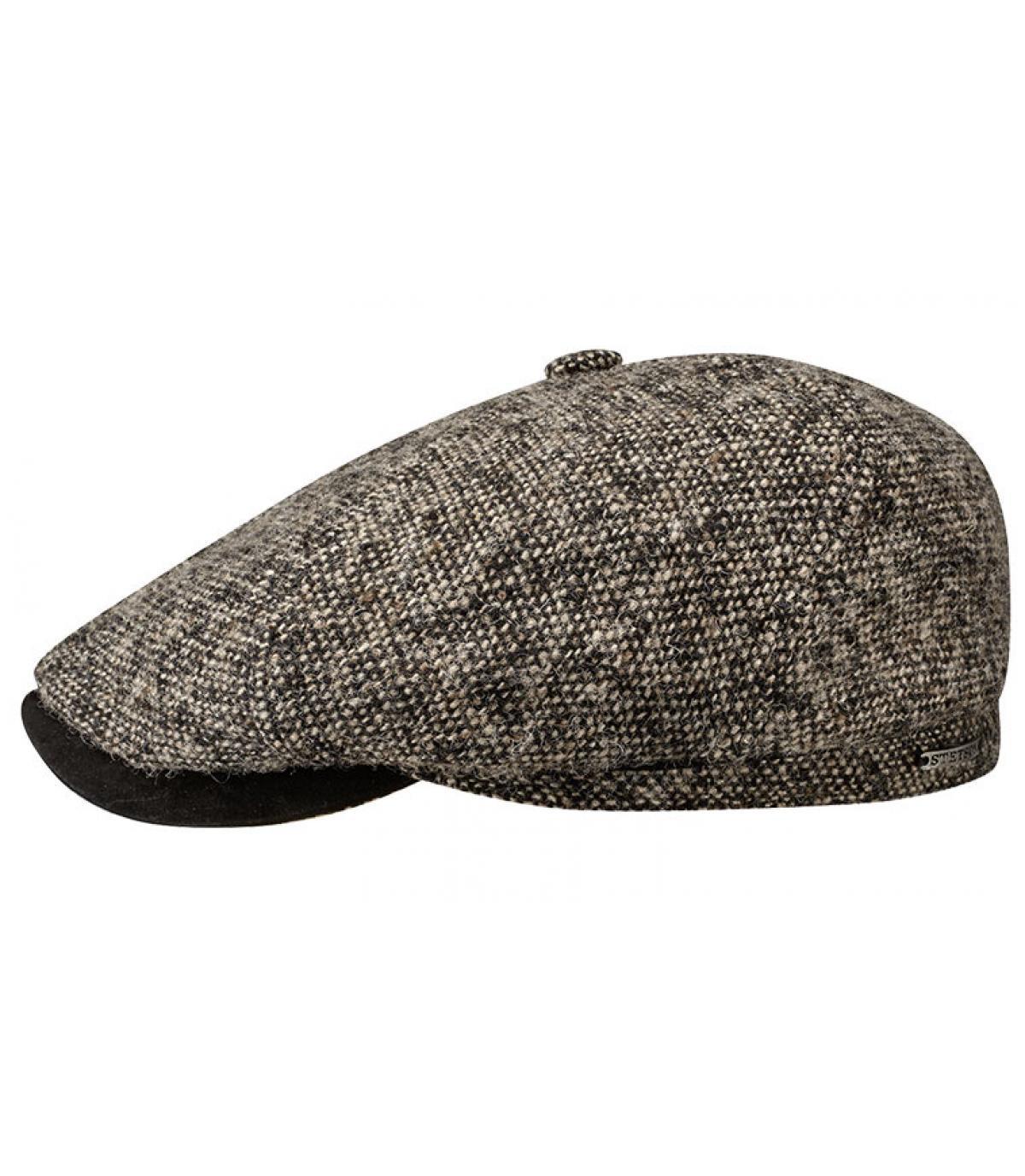 Brown irish cap Stetson